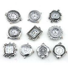 10x Assorted Styles Quartz Watch Faces Jewelery Findings Making DIY Crafts NEW