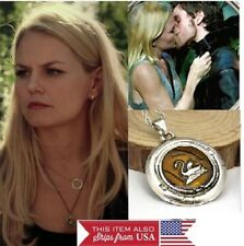 Once Upon A Time Emma Swan Necklace Pendant Silver