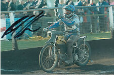 PAUL COOPER HAND SIGNED SCUNTHORPE SCORPIONS SPEEDWAY 6X4 PHOTO 22.