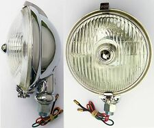 Lucas SFT576 Chrome Fog Light / Fog Lamp. For Classic Car, MG, Triumph, Mini etc