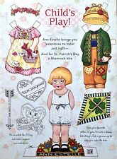 Mary Engelbreit Mag. Paper Doll, ANN ESTELLE, Feb./March 1997, 2nd Issue, Uncut