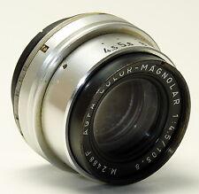 AGFA München Objektiv COLOR-MAGNOLAR 4,5/105,8 M.2488F mit 40mm Gewinde - Selten