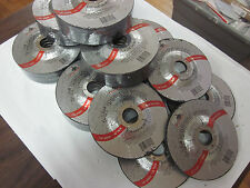 """~ 40 ~ 4-1/2"""" DISC 1/4"""" THICK 7/8"""" ARBOR GRINDING WHEEL CUTTING METAL 13,300 RPM"""