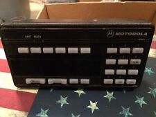 Motorola Syntor UHF X9000 X 9000 Mobile Radio Control head and Mic HCN1033D