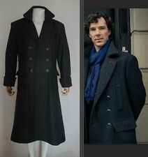 Sherlock Holmes Cape Coat Costume Cosplay Wool Standard size FAST SHIPPING!!!