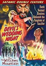 Satanic Double Feature: Devil's Wedding Night/Witches Mountain DVD UNRATED NEW