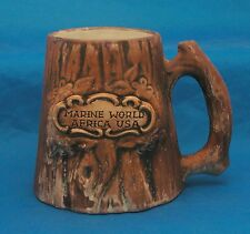 Marine World Africa USA Coffee Mug Tea Cup Tree Trunk