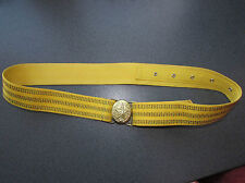 Soviet russian parade belt of the soviet army officer uniform military