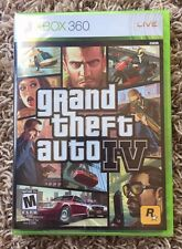 Brand New Sealed! Xbox 360 Grand Theft Auto IV (GTA 4) Black/White Label! Y Fold
