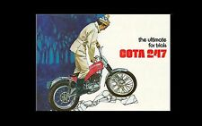 MONTESA Cota 247 PARTS MANUAL w/ Detailed Exploded Diagrams for 247c Motorcycles