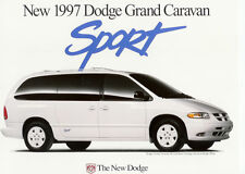 1997 DODGE GRAND CARAVAN SPORT SALES BROCHURE