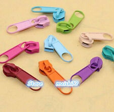 20pcs Nylon Zipper Slider Replacement Color Random 5#