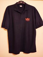 ROYAL AIR FORCE RED ARROWS POLO SHIRT SIZE L UK RAF AIRPLANE AEROBATIC TEAM VGC