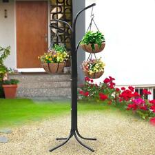 Tree Hanging Garden Flower Pot Stand Planters Deck Patio Yard System new