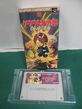 SNES -- GEGEGE NO KITARO -- Action, Super famicom, Japan game, work fully.