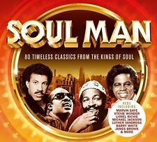 SOUL MAN (Best of Soul) 4 CD SET (2017)