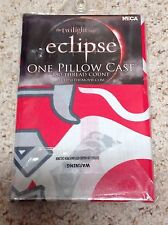 Twilight Saga ECLIPSE TEAM EDWARD CULLEN Crest  Pillow Case Vampire NIP