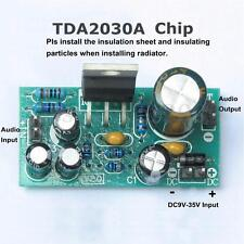 TDA2030A Electronic Audio Power Amplifier Board Module Mono 18W DC 9-24V DIY Kit