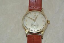 1955 Mens OMEGA *Automatic* 17 Jewels, 490 Caliber, 10KGF Swiss Wrist Watch NICE