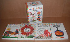 The Eric Carle Gift Set by Eric Carle Lot of 4 Board Books NEW