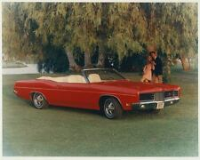 1970 Ford XL Convertible Automobile Photo Poster Z0716
