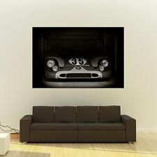 Porsche 917 Le Mans Giant B&W Poster Vintage Race Car Huge Print 54x36 Inches
