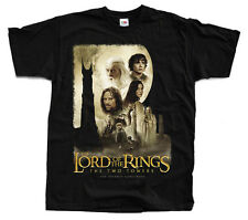 LORD OF THE RINGS Two Towers ver. 1 T-shirt (Black) S-5XL
