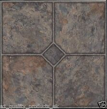 60 x Vinyl Floor Tiles - Self Adhesive - Bathroom Kitchen BNIB Classic Stone 184