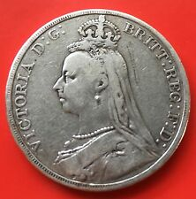 GB Victoria Crown silver 1890