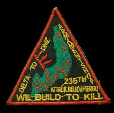 US Army 235th Attack Helicopter Company Vietnam Combat Patch A-4