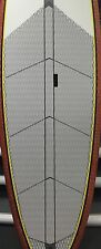 Gray JK SUP Stand Up Paddle Board 12 piece deck pad diamond grove