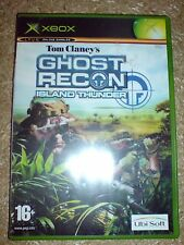 TOM CLANCY'S  GHOST RECON ISLAND THUNDER (XBOX) USED