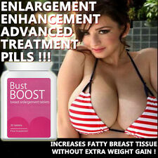 BUST BOOST BREAST ENLARGEMENT PILLS TABLETS MAX STRENGTH SEXY MASSIVE BOOBS