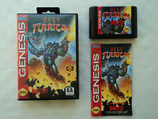 Mega Turrican Complete in Box CIB Sega Genesis - Cleaned & Tested