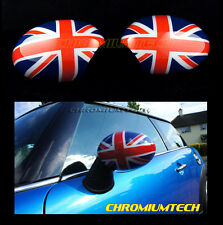 01-06 BMW MINI Cooper/ S/ ONE/ Convertible WING MIRROR Caps Cover UNION JACK RHD
