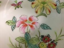 "BIG JAPANESE PORCELAIN WARE BOWL DECORATED IN HONG KONG FOR 2.65"" TALL"