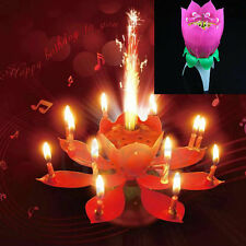 New Romantic Music Candles Lotus Flower Candle Birthday Candle Anniversary