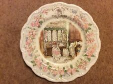 "Brambly hedge Royal Doulton THE DAIRY 8"" wall plate"