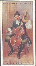 Churchman - Musical Instruments - 23 - Viola da Gamba