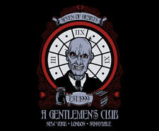 BUFFY THE VAMPIRE SLAYER Gentlemen's Club HUSH Art TeeFury TEEVILLAIN T-SHIRT