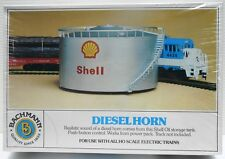 BACHMANN Trains:  HO (1/87) Scale Structure - Diesel Horn in Shell Storage Tank