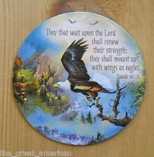 Leanin Tree Flex Magnet Eagle Bible - They That Wait Upon The LORD Isaiah 40:31