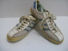 Vintage Adidas Love Set Made in France Womens Leather Sneakers Tennis Shoes 8.5