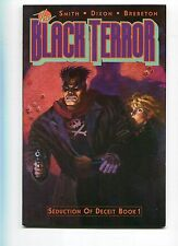 BLACK TERROR #1,2,3 - ECLIPSE COMICS - 1989