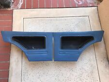 INTERIOR REAR SEAT POCKET PANEL SET BLUE HONDA CIVIC CVCC SB1 RS 1200 1973-1979