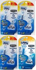 Brand New 15(Fifteen)  SCHICK HYDRO 5 DISPOSABLE RAZORS/JETABLES