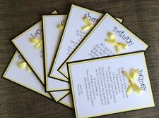 Will You Be My Bridesmaid Card Black And Yellow Wedding Card Wedding Invitation