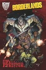 BORDERLANDS THE FALL OF FYRESTONE #2 SUBSCRIPTION SUB CVR VARIANT IDW GME COMIC
