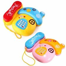 Baby Kids Musical Mobile Phone For Toddler Sound Educational Toy