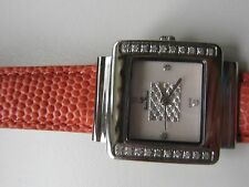 Lucien Piccard Woman's Diamond Watch w/3 additional Straps